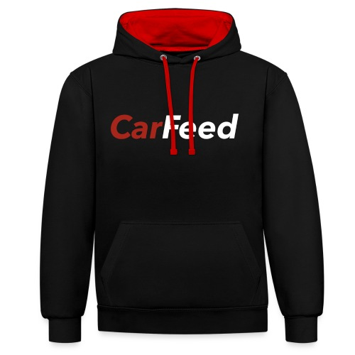 CarFeed - Contrast Colour Hoodie
