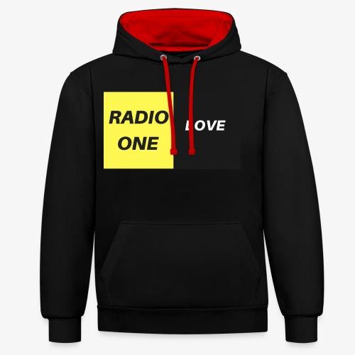 RADIO ONE LOVE - Sweat-shirt contraste
