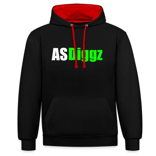 AS Diggz - Contrast Colour Hoodie