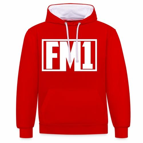 FM1 - Kontrast-hættetrøje