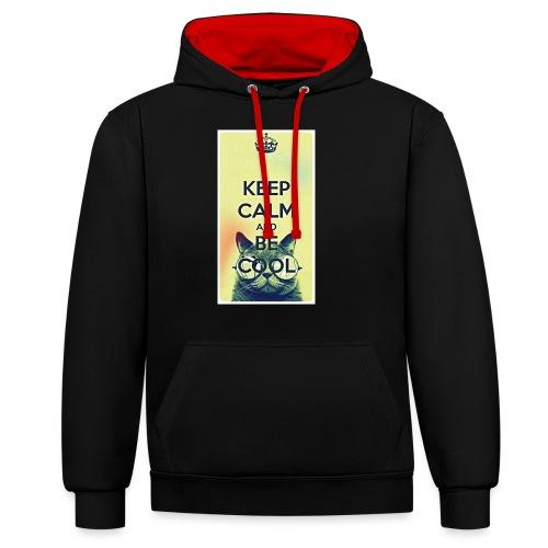 COOL - Contrast hoodie
