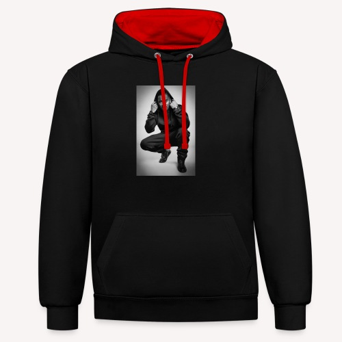 Black M - Sweat-shirt contraste
