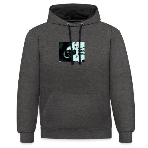 Mikkel sejerup Hansen T-shirt - Kontrast-hættetrøje