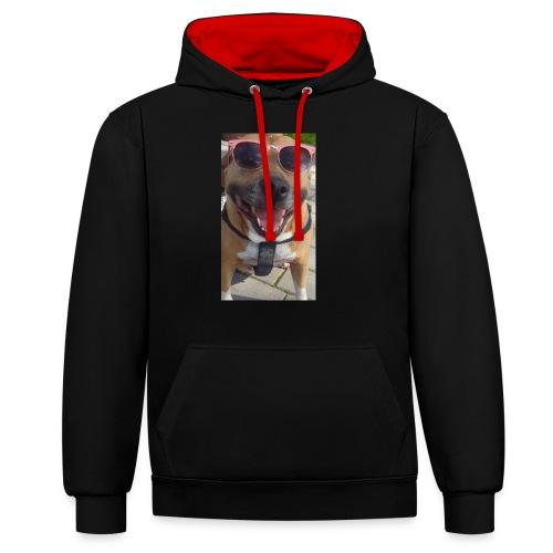Cool Dog Foxy - Contrast hoodie