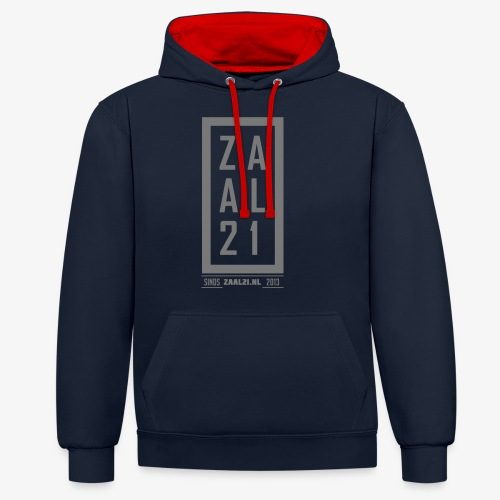 T-SHIRT-BLOK - Contrast hoodie