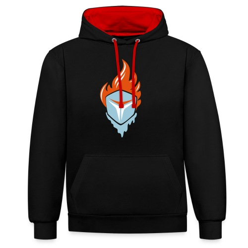 Fire and Ice 3C - Kontrast-Hoodie