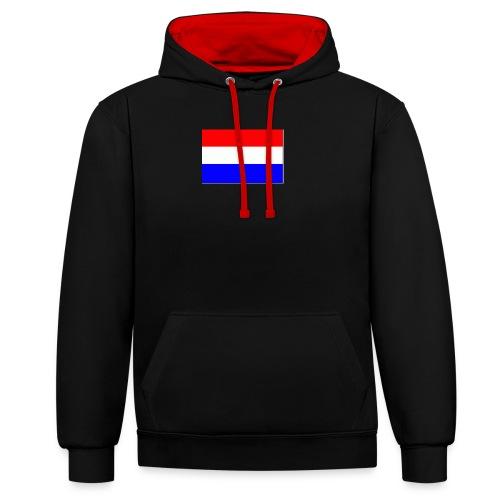 vlag nl - Contrast hoodie