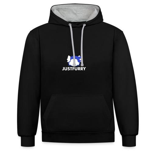 JustFurry logo - Kontrastihuppari