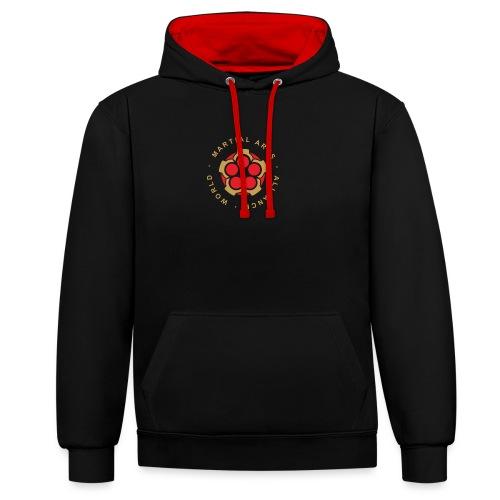 WMAA-logo_xl - Kontrast-Hoodie