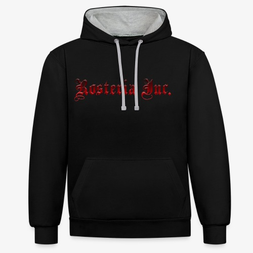 rosterialogo - Contrast Colour Hoodie