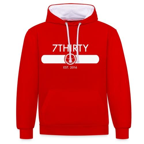 7Thirty Est. 2016 Colour - Contrast Colour Hoodie