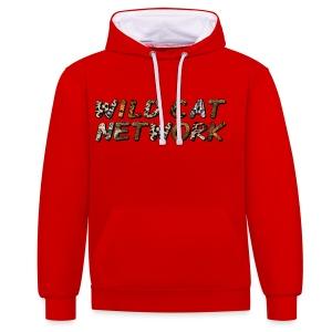 WildCatNetwork 1 - Kontrast-Hoodie