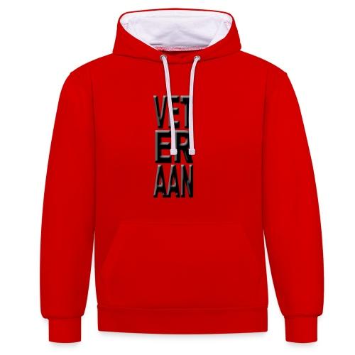 VETerAAN - Contrast hoodie