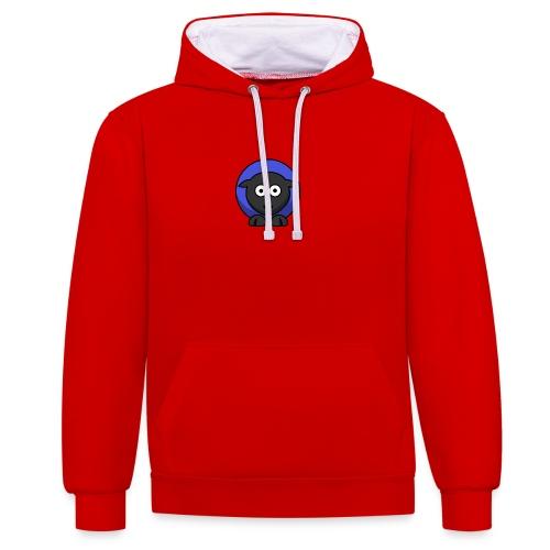 schaap - Contrast hoodie