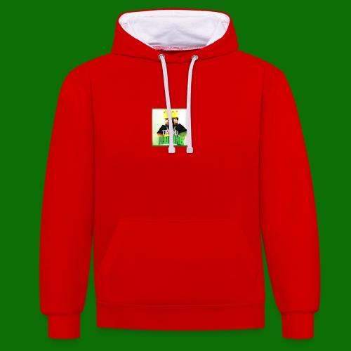 TrollKoning - Contrast hoodie