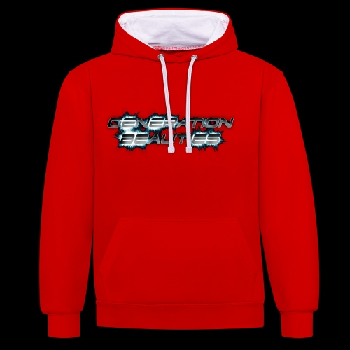 Generation Beauties Frauen - Kontrast-Hoodie