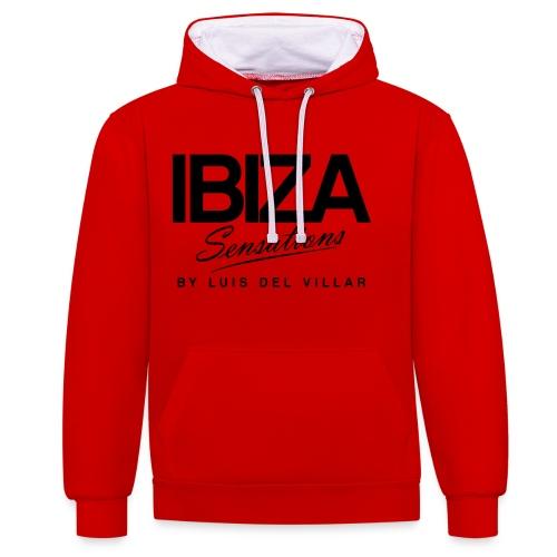 Cooking Apron Ibiza Sensations - Sudadera con capucha en contraste