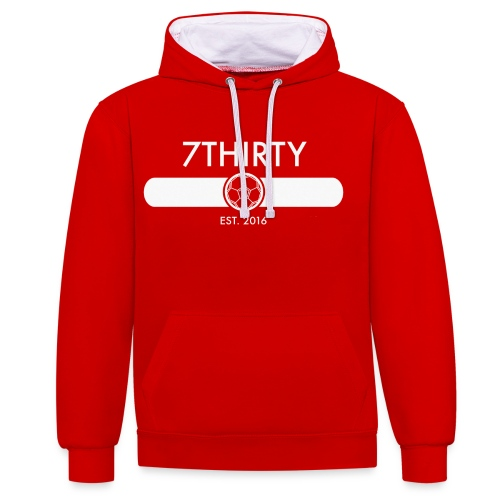 7Thirty Est. 2016 Colour - Contrast Colour Hoodie