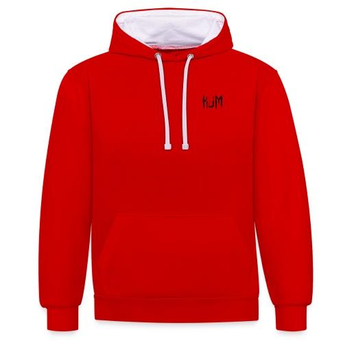 KJM - Contrast Colour Hoodie