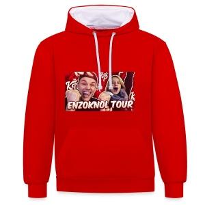 EnzoKnol Tour - Contrast hoodie