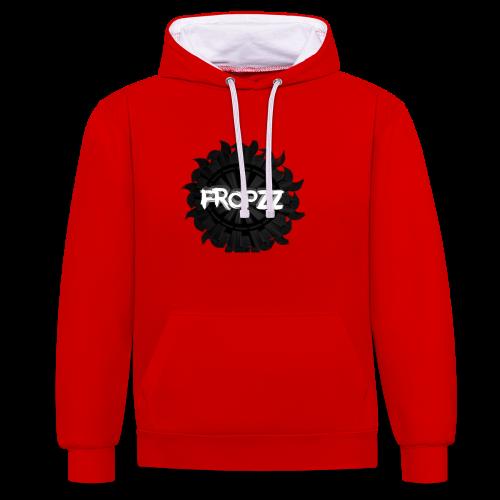 FropZz HD - Kontrast-Hoodie