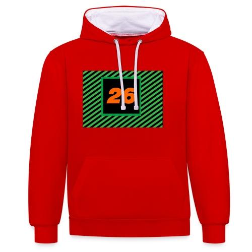 26Games Shirt - Contrast hoodie