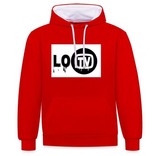 Lo_TV_ - Contrast hoodie