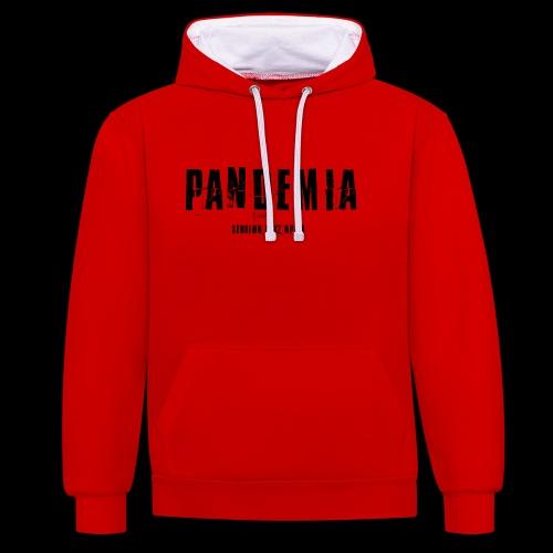 Pandemia - Sweat-shirt contraste