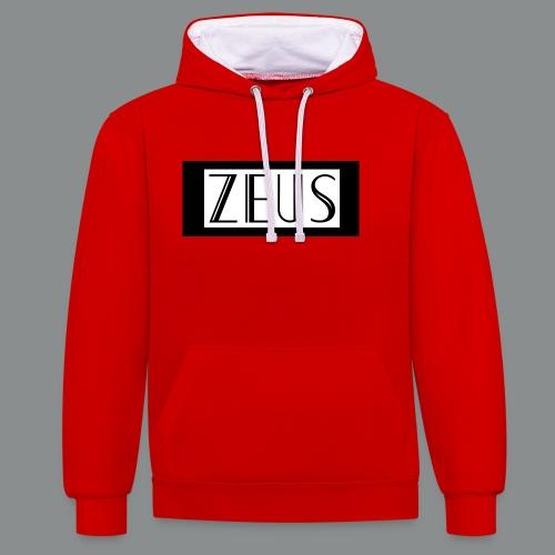 ZEUS - Contrast hoodie