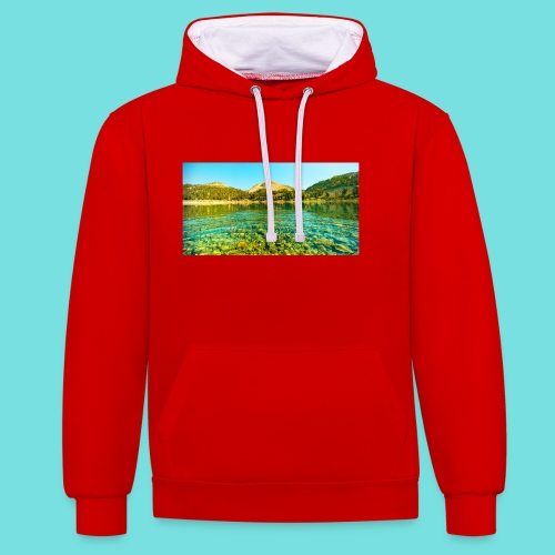 Nature (MALE) - Contrast Colour Hoodie