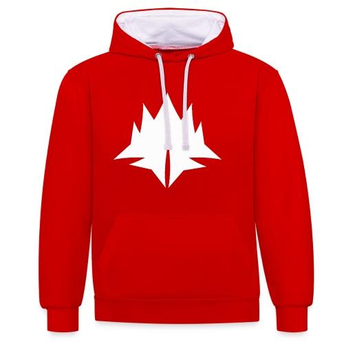 deserm logo - Contrast hoodie