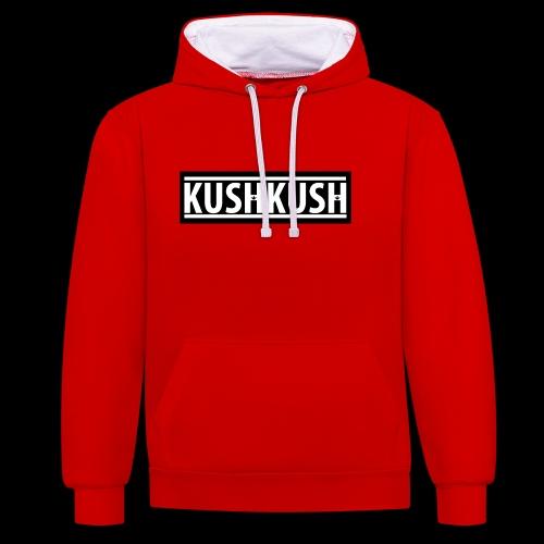 KUSHKUSH - Contrast hoodie