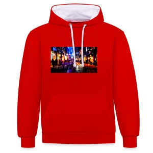 Flip Side Photography Amsterdam - Contrast Colour Hoodie