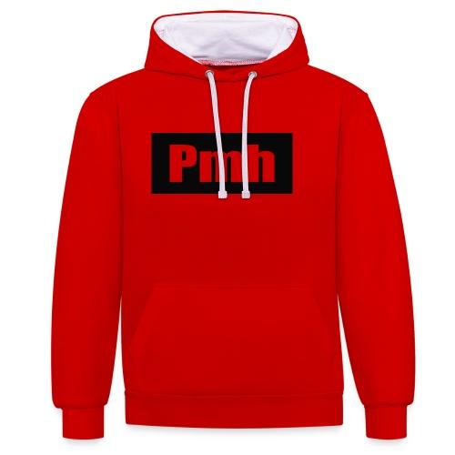 Pmh-Shirt - Contrast Colour Hoodie