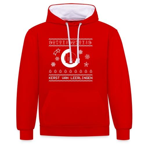 CvL Ugly Christmas Design - Contrast hoodie