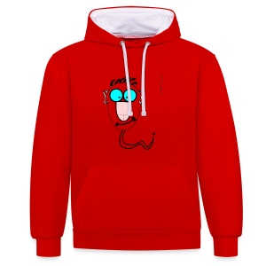 The_Sperms - John_Dickhead - Contrast Colour Hoodie