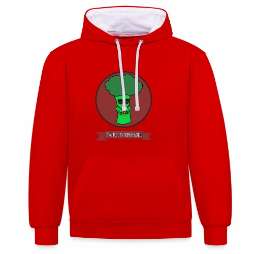 EST. - Shirt - Kontrast-Hoodie