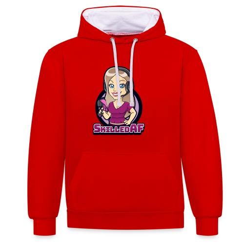 skilledaf - Contrast hoodie