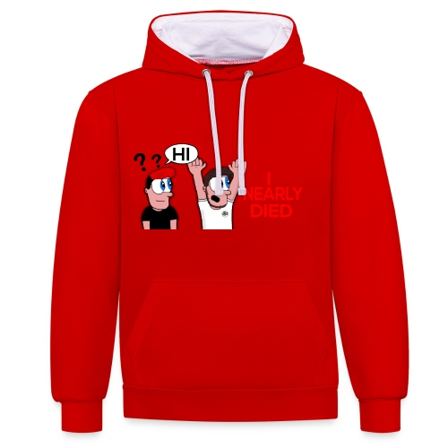 Story Time YouTubers - Contrast Colour Hoodie