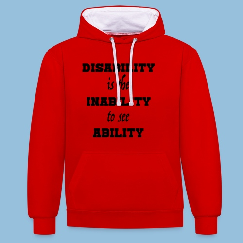 Ability4 - Contrast hoodie