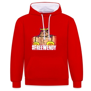 #FreeWendy - Contrast Colour Hoodie