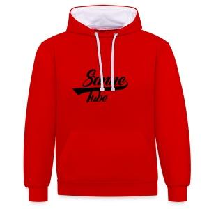 SanneTube Design - Contrast hoodie