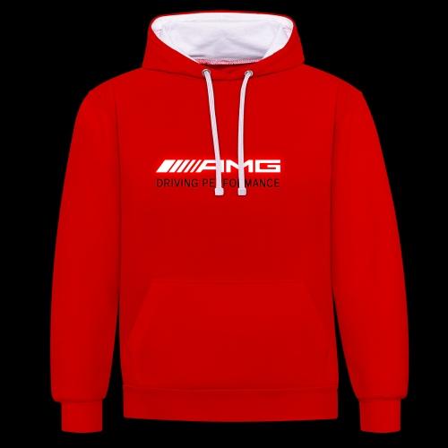 AMG Red-Edition NEON - Kontrast-Hoodie