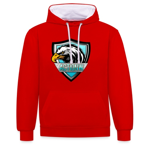 Fan shirt + Logo - Contrast hoodie