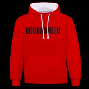 Moonshine Oversight logo - Sweat-shirt contraste
