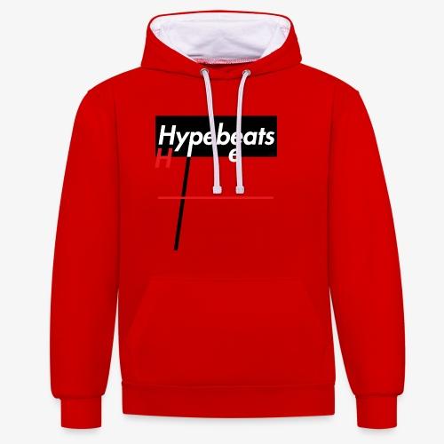 hypebeats - Kontrast-Hoodie