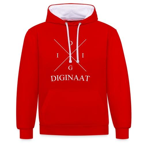 Diginaat - Contrast hoodie