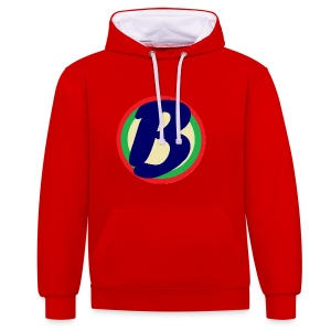 Womens Shirt - Contrast Colour Hoodie