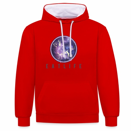 Space Dog - Sweat-shirt contraste