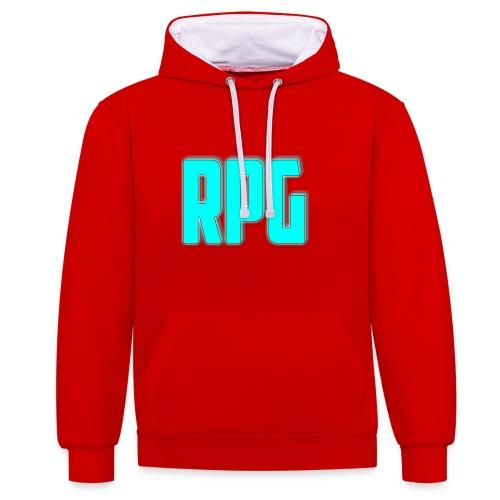 RPG Logo - Contrast Colour Hoodie